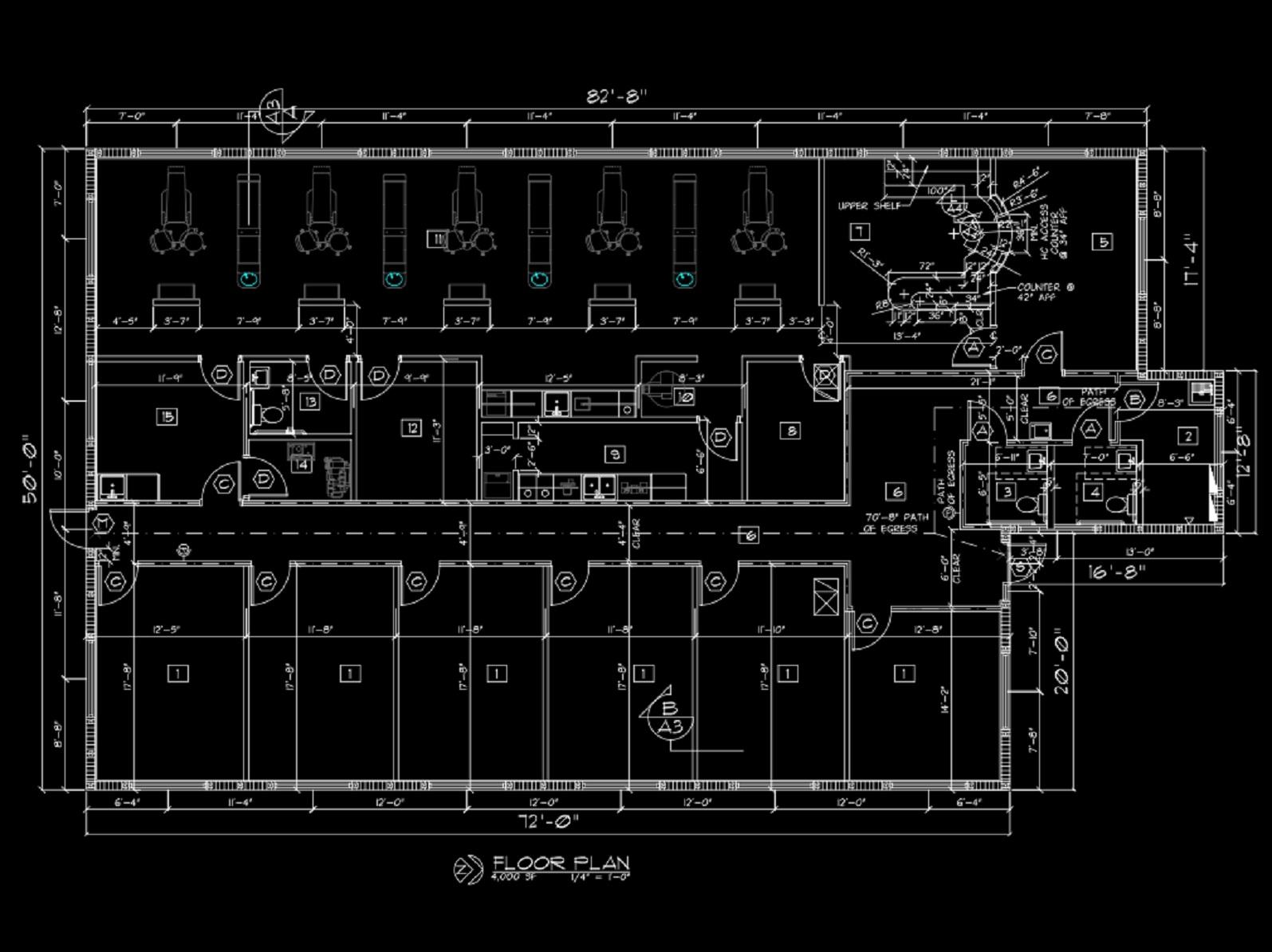 11 Dentist Floor Plan