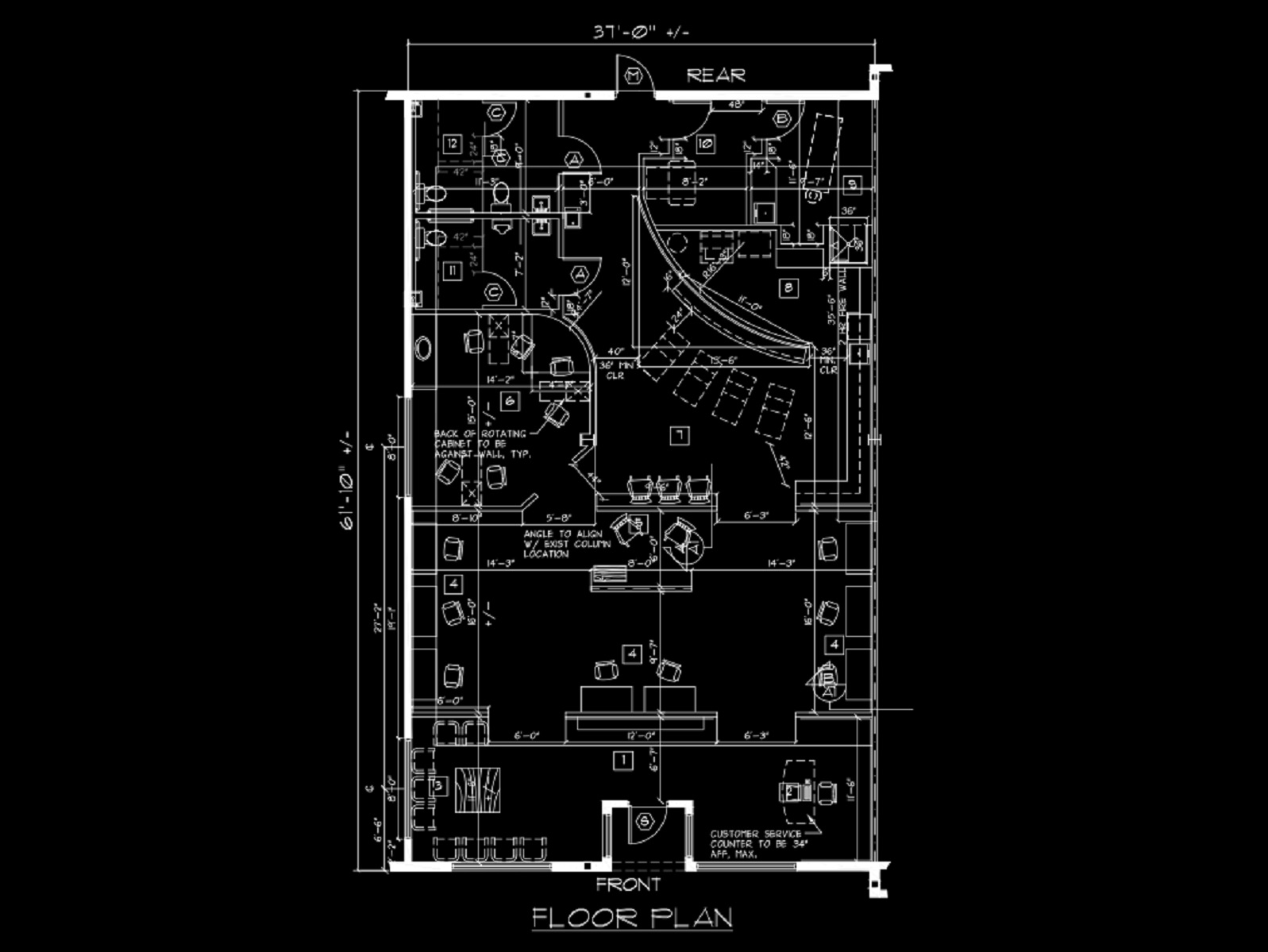 6 Shapes Shades Floor Plan