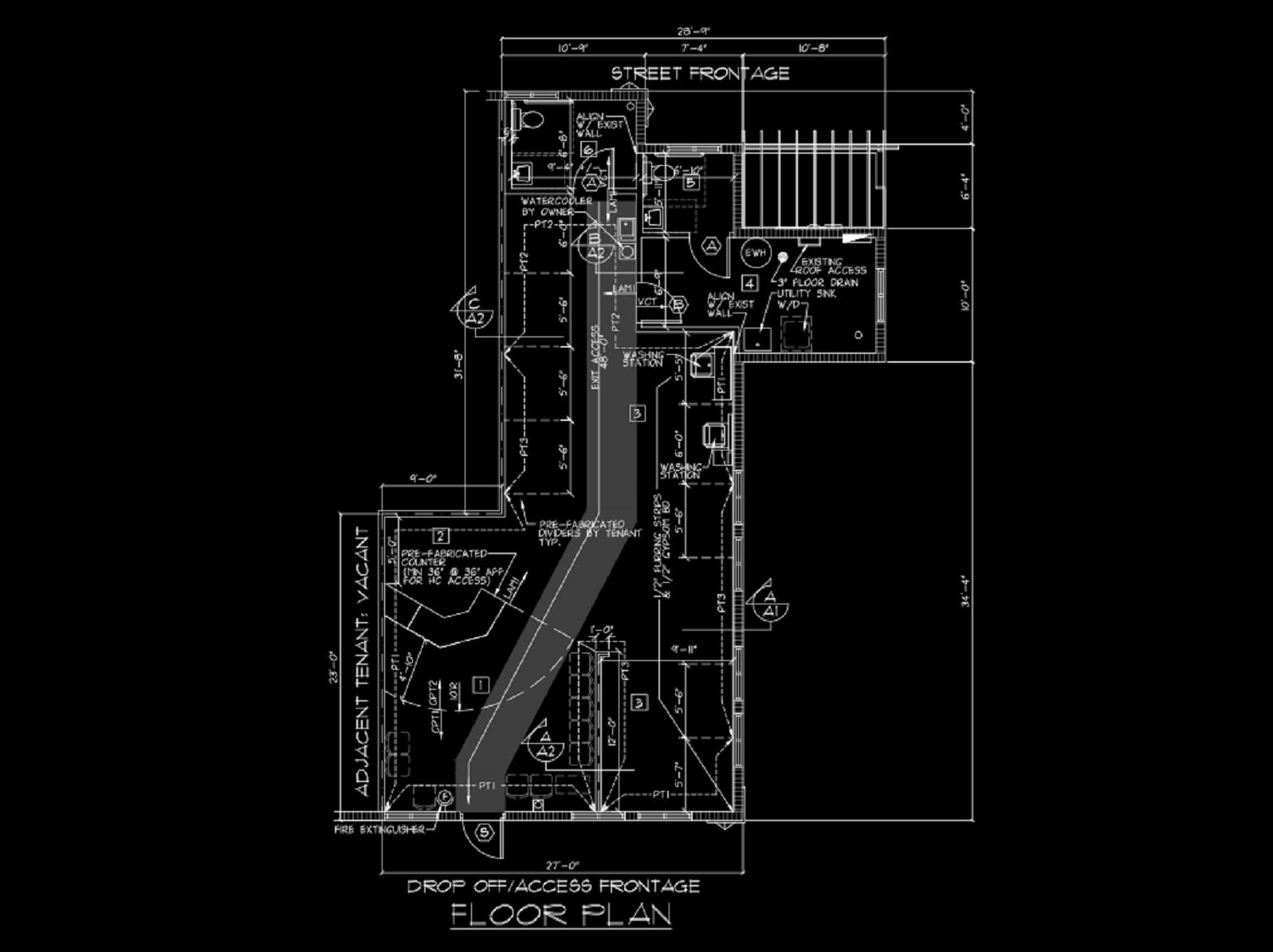 8 Great Clips Floor Plan