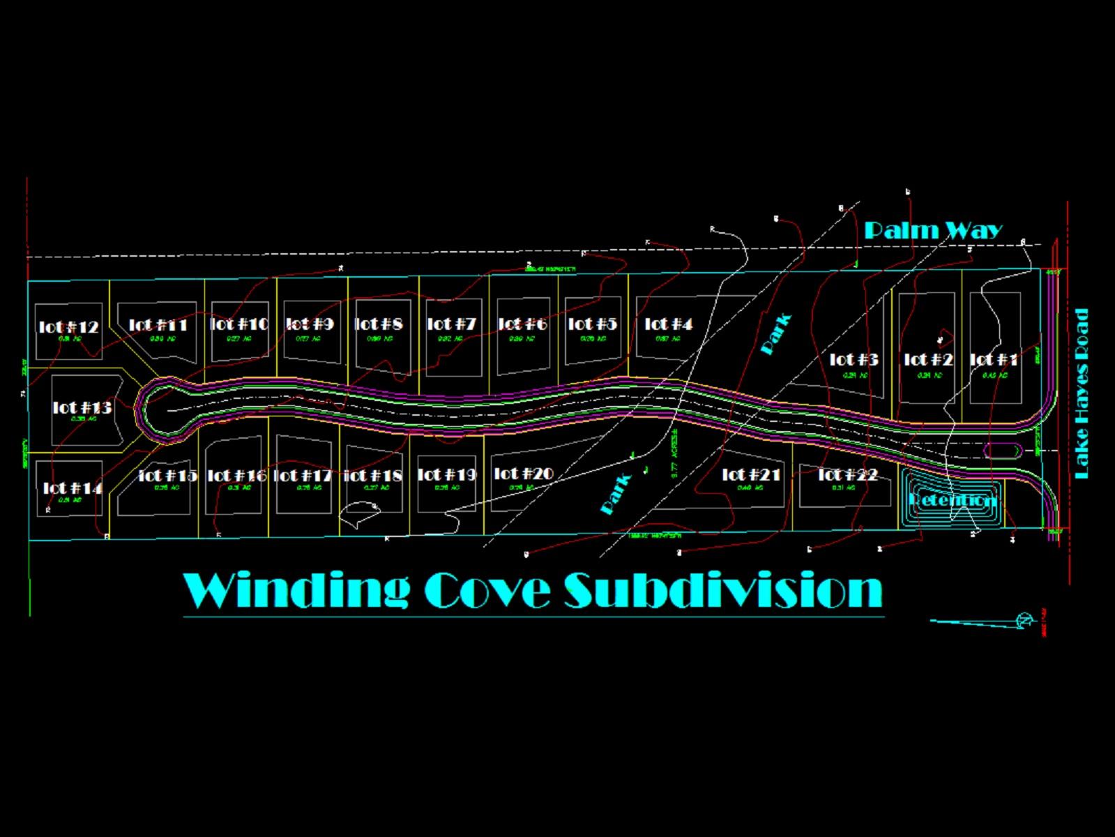 Winding Cove Plan